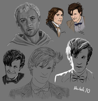 2010 Various Gallifreyans by harbek