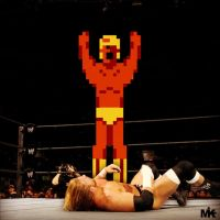 Pro Wrestling NES - Giant Panther by MightyMusc