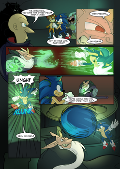 Sonic Duality Arc 1 Issue 1 pg 23 by SkyPirateDash