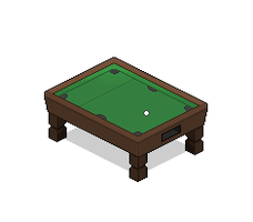 Habbo Pool Table by PullanArts
