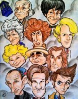 11 Doctors by CaricatureDan