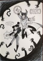 Commission - Doctor Strange and Zatanna by tyrannus