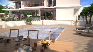 H Residence - View from Pool by bm23