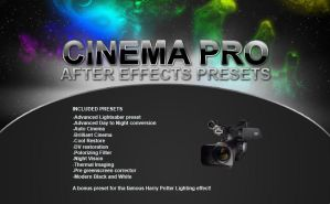 CINEMA PRO: After Effect by TonyFbaby