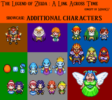 ALAT - Additional Characters 1 by ChaosMiles07