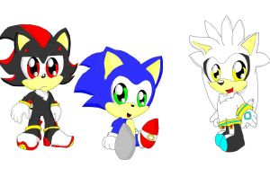 the hedgehogs by silvazelover2