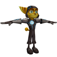 Ratchet and Clank Future:ACiT- Holoflux Armor(OLD) by o0DemonBoy0o