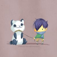 i have a panda by Thiefoworld