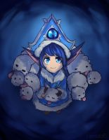Winter Wonderland Lulu fan art by Hamzilla15