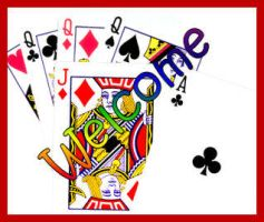 playing cards banner by jackiesc