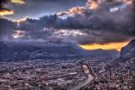 Grenoble, France 2 by Spacegryphon