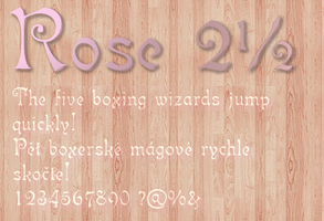 Rose 2.50 by Zsantz