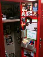 New 8th grade locker decorated by edwardsuoh13
