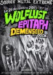 Wolflust + Epitaph + Demenseed by Oniroscope
