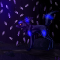 .: Shiny Umbreon :. by Forumsdackel