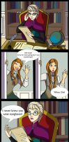 Elsa's Eyeglasses Comic by mizzizabellaSMS