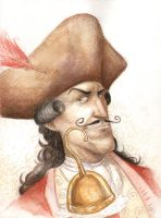 Captain Hook color study by kylebice