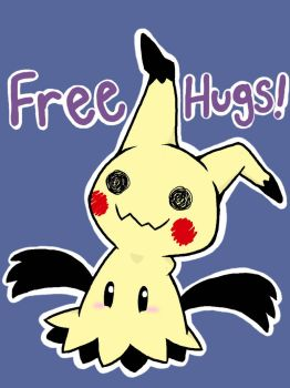 Mimikyu Hug! by Drizzle-The-Glaceon