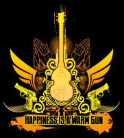 Happiness is a Warm Gun by superultimateomega