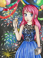 Happy New Year! by Lazure-chan