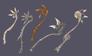 Light maces by Wen-M
