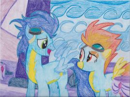 Spitfire and Soarin' by Aqws7