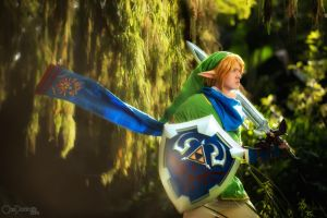 Link Cosplay - Legend of Zelda: Hyrule Warriors by Kohalu