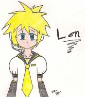 Len Kagamine by Pure-Resonance