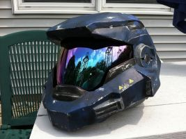 Halo Reach Noble 6 helmet by Red8ball
