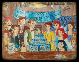Milo Thatch-Hawkin's Birthday by simpsonsquire