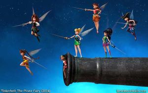 Tinkerbell and The Pirate Fairy 10 BestMovieWalls by BestMovieWalls