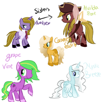 MLP Adopts Batch 2 CLOSED by CosmicCutie