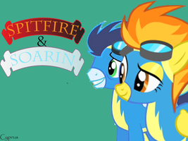 Soarin and Spitfire by LoLCyprus