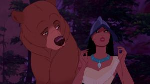 Kenai and Pocahontas - Oneshot by LilMissPeppy