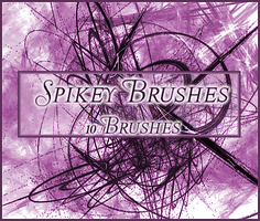 Spikey Brushes by Illyera