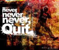 never, never,never Quit by Imux
