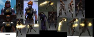 CoH Toon Collage 01 by Jaguard