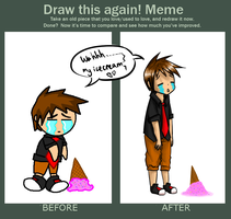 Before and After Meme by Spazzroo27