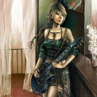 .:Guitar Girl:. by Nicola-Alexander