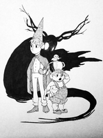 Inktober: Any Better Alive by Mumpkins