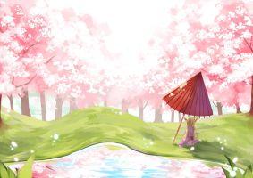 a day's stroll by Himechui