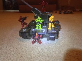 On the roll with a scorpion tank by robromangamin