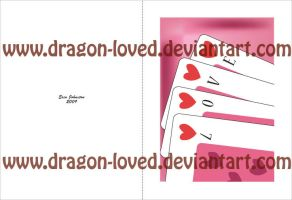 V-Day Greeting Card by Dragon-loved