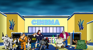 The Line for Star Wars by BennytheBeast