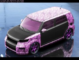 Pretty In Pink Scion xB by john-mac-design