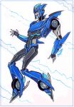 Commission - TFP OC Blueswift by MaryDec