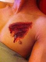 Spfx makeup on chest by Urianity