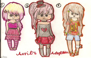 Adoptables 6 FREE(CLOSED) by xOAVRILOx