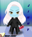 Jimmy the Mega Chibi Wraith by VelvetKevorkian333