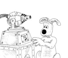 Gromit and Invention by Cavor44